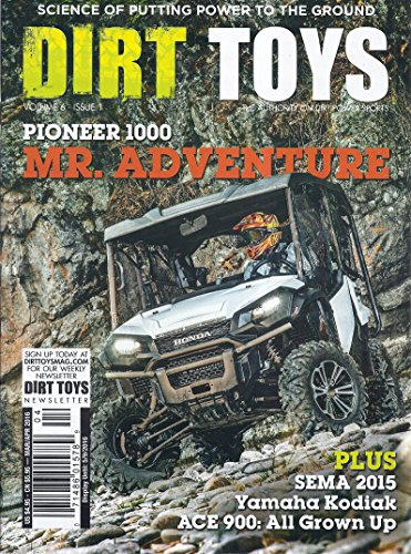 Dirt Toys Magazine (March/April 2016 - Cover: Pioneer 1000)