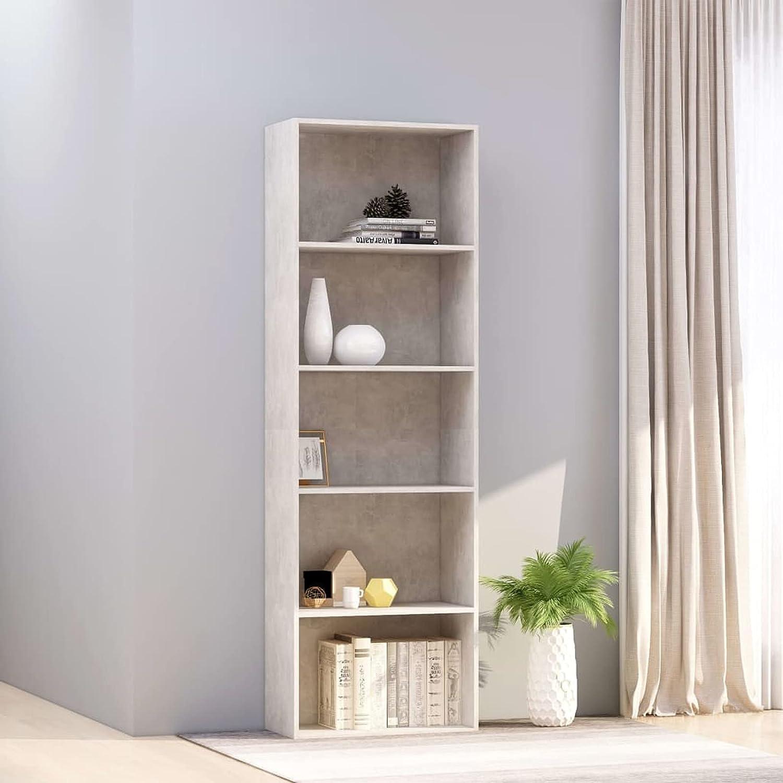 Tidyard 5-Tier Book Cabinet Super sale Storage Organizer