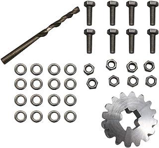 Sangmei Conserto de roda sobressalente Kit de conserto de engrenagem de suporte de roda sobressalente compatível com Ford ...