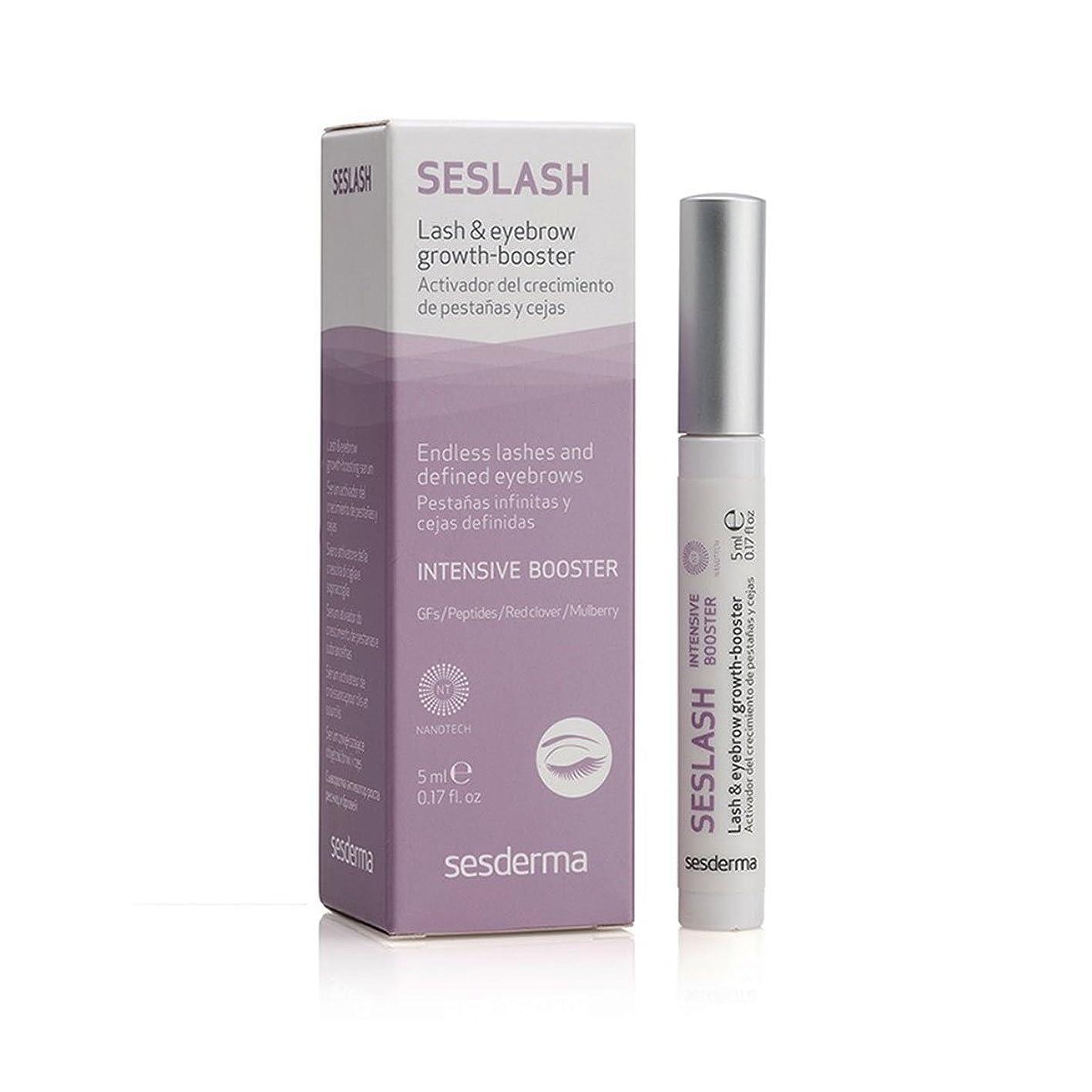 失礼な愛する忠実なSesderma Seslash Lash And Eyebrow Growth-booster Serum 5ml [並行輸入品]