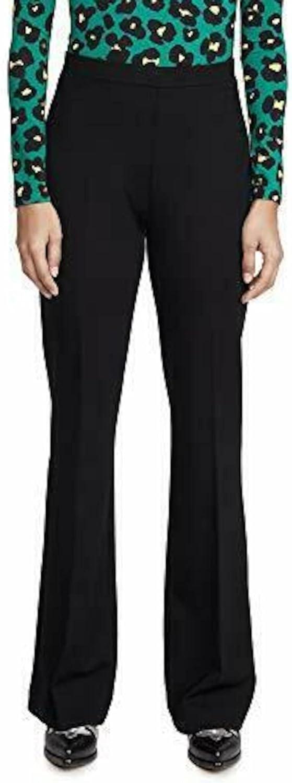 Kobi Halperin Womens Black Boot Cut Wear to Work Pants Size 2X
