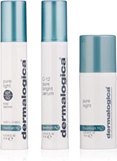 Dermalogica Powerbright TRX Treatment Kit - Set Contains: Face Serum, Sunscreen and Lotion - Brightens Uneven Skin Tone By...