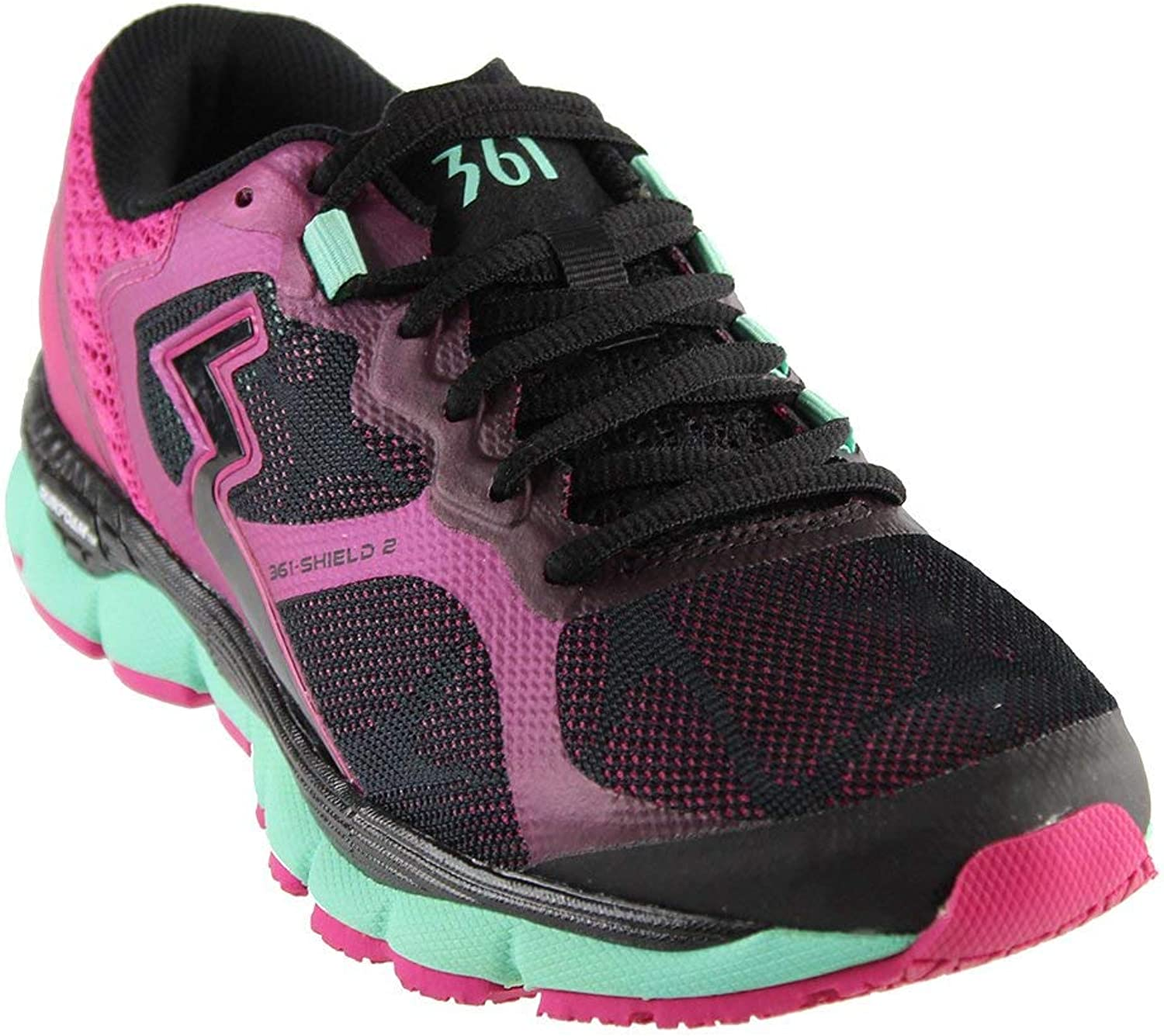 361°°°°°°°° Women's Shield 2 Running shoes Black