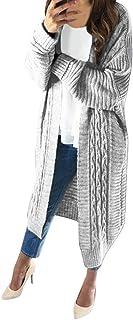 Fannyfuny Ropa Mujer Cárdigans Casuales Imprimiendo Estampada de Kimono Cardigan Chal con Frente Abierto Cárdigan Jerséis,...