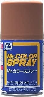 GSIクレオス Mr.カラー スプレー S43 ウッドブラウン