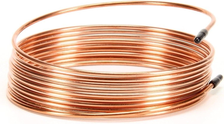 SILVER KING 99445 Tube Cap Copper .042  Inner Diameter.093  Outer Diameter