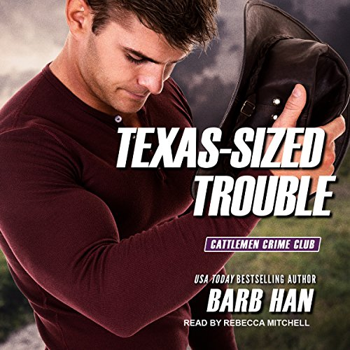 Texas-Sized Trouble audiobook cover art