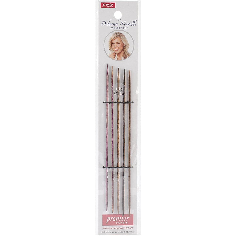 Premier Yarns DNN80-1 Deborah Norville Double Pointed Needles, 6-Feet