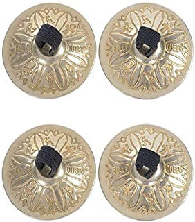 Nimiman Professional Women 2 Pairs Belly Dance Accessories Jewellery Copper Finger Cymbals Belly Dance Zills