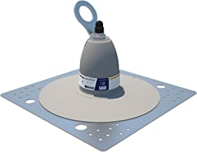 3M DBI-SALA 2100140 Roof Top Anchor for PVC Membrane and Built-Up Roofs with Weather Proofing Shroud, Silver