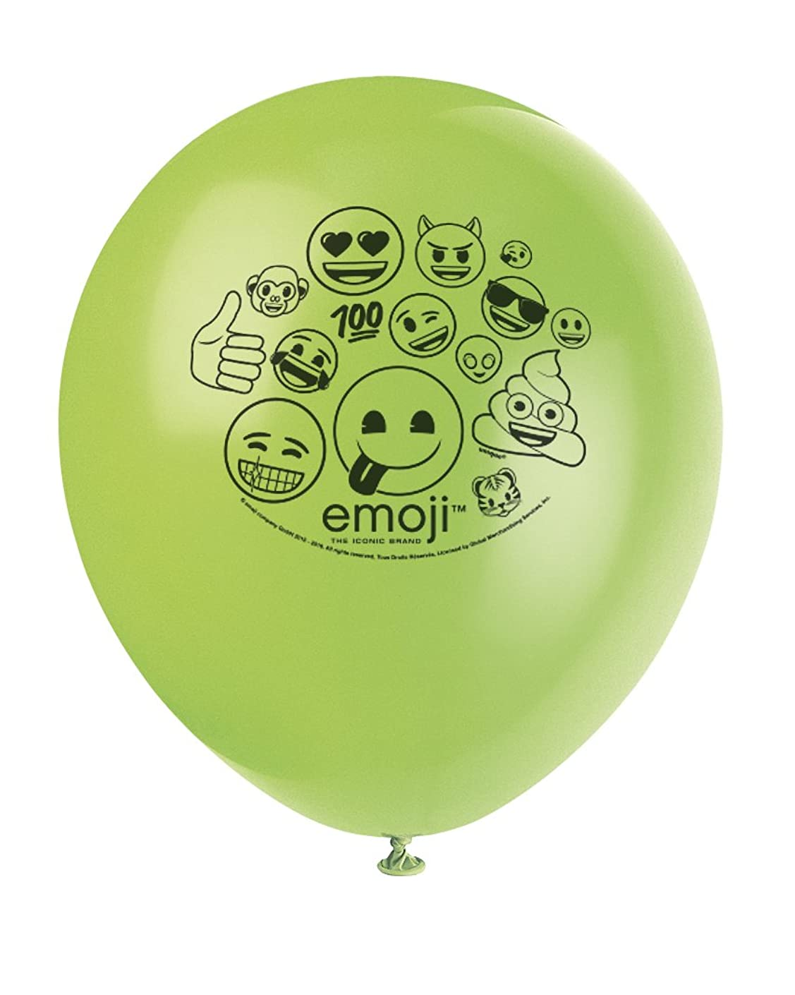Emoji Party Supplies & Decorations - 12