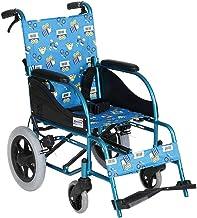 Zhi BEI Wheelchair, Aluminum Alloy Manual Wheelchair, Lightweight Portable Multi-Function Children's Scooter, Nursing Car  