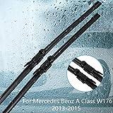 MDHANBK Limpiaparabrisas, para Mercedes-Benz Clase A W168 / W169 / W176 / A140 / A150 / A160 / A170 / A180 / A190 / A200 / A210 / A220 / A250 / A45 / A45 / AMG/CDI
