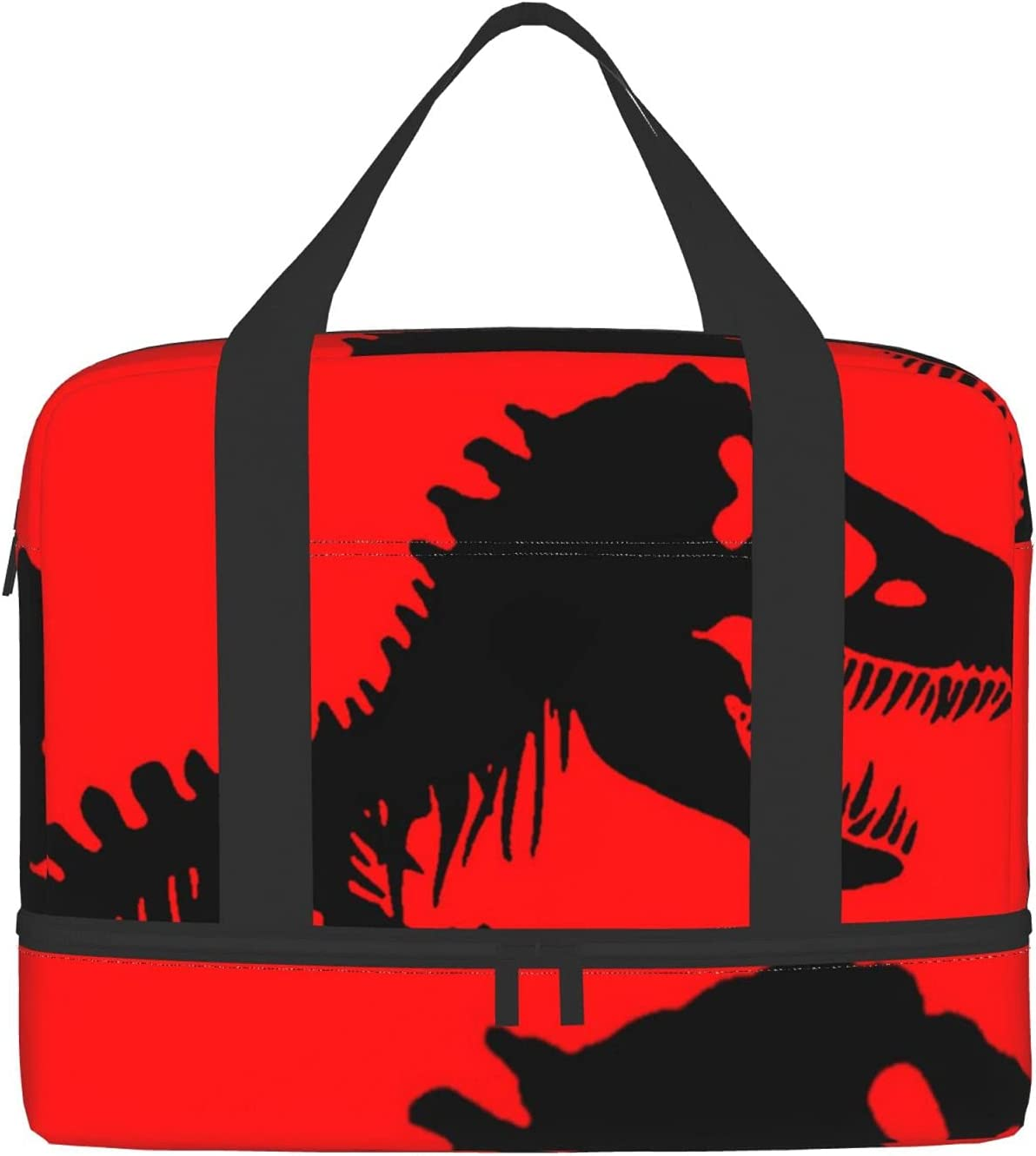 Dinosaur Sports Gym Bag With Compartment Wet Pocket discount Tra Max 47% OFF Shoes