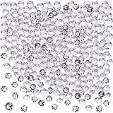 Blulu 2000 Pezzi 6 mm Acrilico Trasparente Diamante Dispersione Festa di Nozze Matrimonio Cristallo Tavolo Coriandoli
