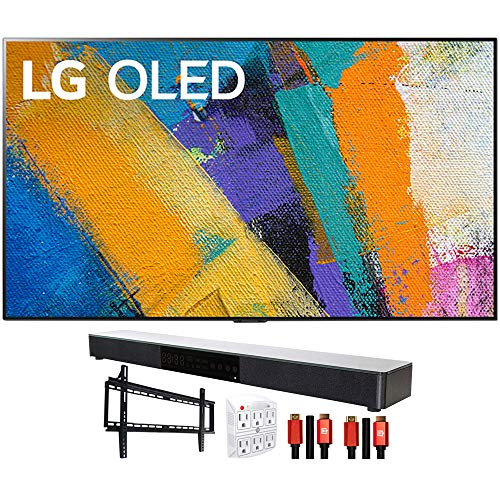 Buy LG OLED65GXPUA 65 GX 4K Smart OLED TV (2020l) with Deco Gear Home Theater Bundle