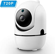 Isotect 720p Pet Camera- Wireless Security Camera with Night Vision/Two-Way Audio, 2.4Ghz WiFi Home Surveillance IP Camera for Baby/Cat/Nanny Monitor