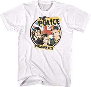 The Police /'79 World Tour White Adult T-Shirt