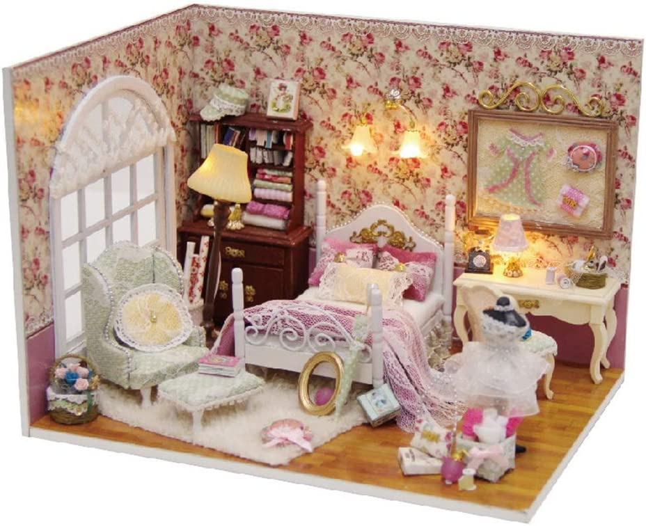 Teerwere Toy 4 years warranty House Miniature Model Sales of SALE items from new works Dollhouse DIY