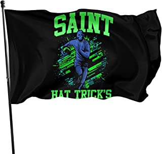 Yiyuan American Fly Breeze 3x5 Foot Flag - Funny Rugby T-Shirt Irish St Patricks Day Gift