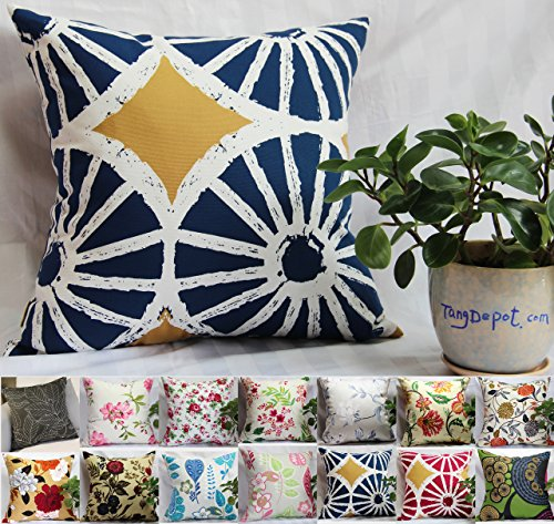 Our #6 Pick is the TangDepot Printcloth Decorative Throw Pillow