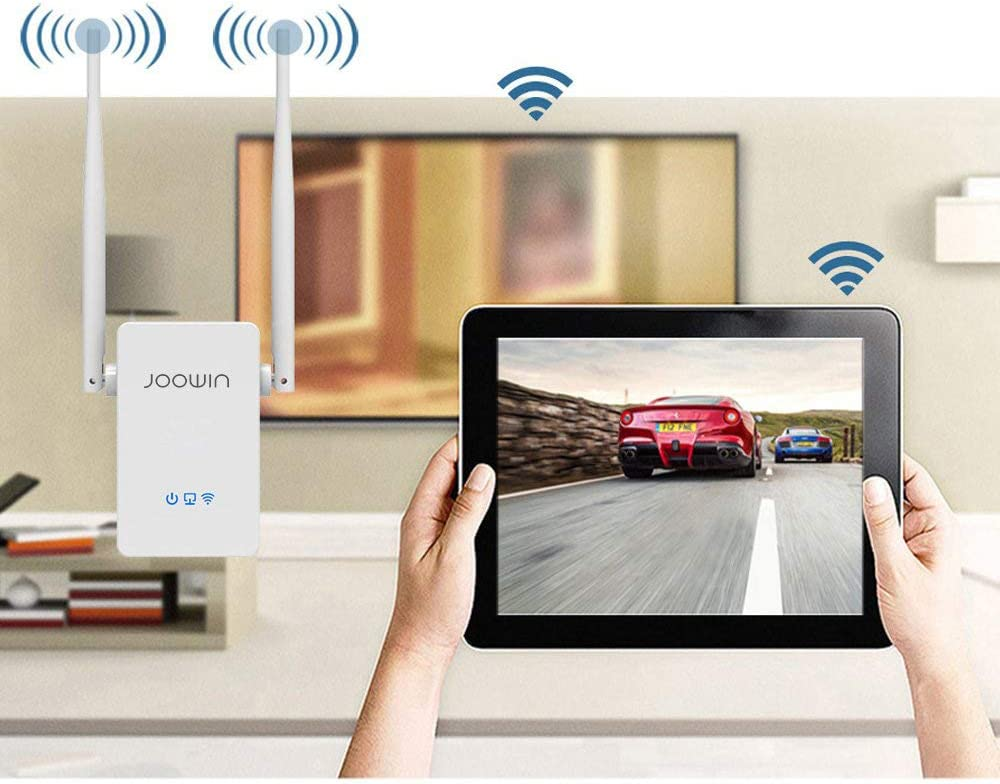 Extends WiFi to Smart Home /& Alexa Devices with Ethernet Port and WPS Button 2.4GHz 300Mbps Wi-Fi Signal Booster Wireless Repeater//Access Point//Router WiFi Range Extender