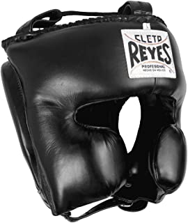 (Medium, Black) - Cleto Reyes Classic Training Headgear, Medium