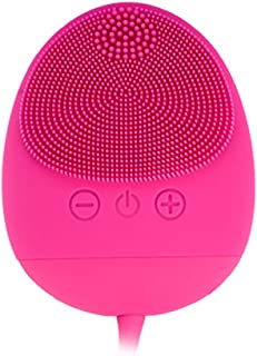 Dispositivo De Belleza Facial,Cepillo Facial de Silicona,Masajeador Facial Eléctrico Impermeable a Prueba de Golpes Seg...