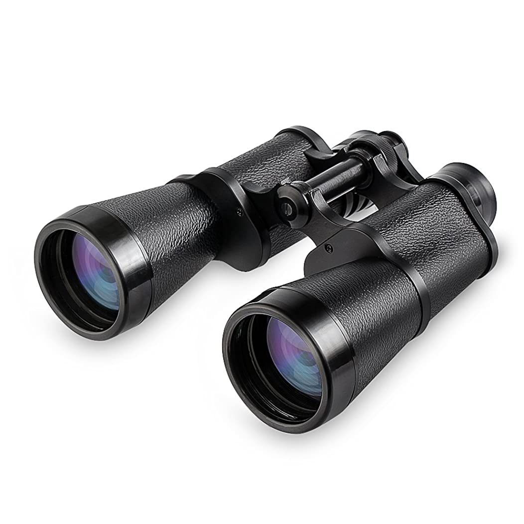 HD Binoculars, 10x50 Professional Binocular Telescope, Waterproof Field Glasses w/Low-Light Night Vision, 10x Long Distance Magnification, Binoculars Strap, Travel Bag, for Bird Watching Tourism