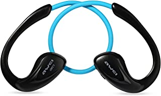 Awei A880BL Wireless Sports Headset with Handsfree NFC Songs Track Function - Blue