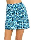 Ekouaer Gym Girl Skorts Plus Size Summer Quick Drying Lightweight Mini Golf Skirt for Sport