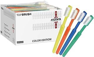 100 TOP CEPILLO Malta conjeturado cepillado con Pasta de dientes 4 Colores mezclado Artículo de marca Akzenta
