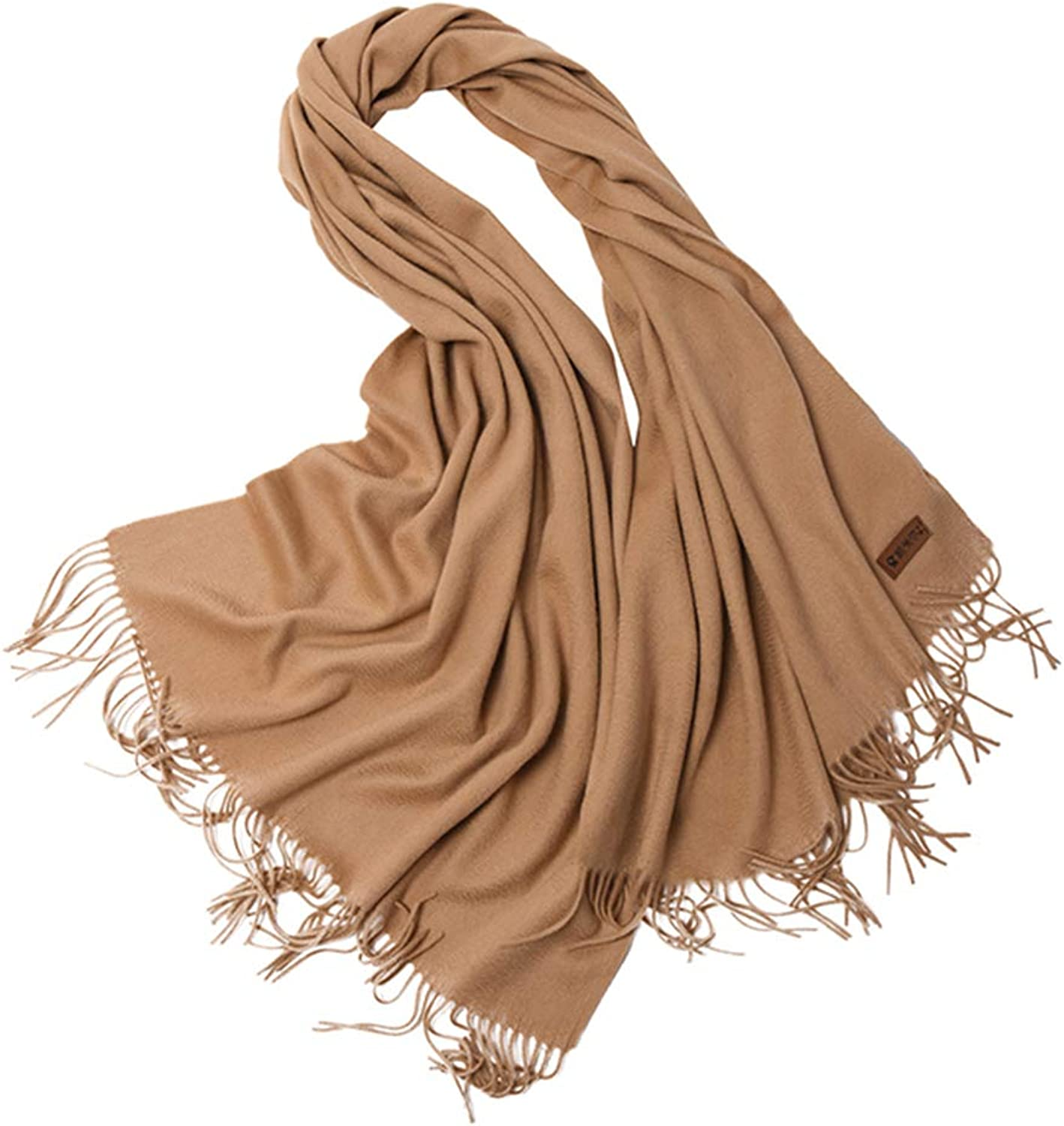 Stoles Scarf Cashmere Shawl Scarf Spring and Autumn Winter Warm Scarf Long Ladies Cashmere Tassel Shawl (color   L, Size   180  70cm)
