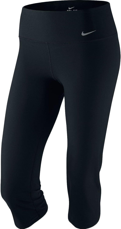 NIKE Women's DriFit Slim Fit Training CaprisBlackSmall