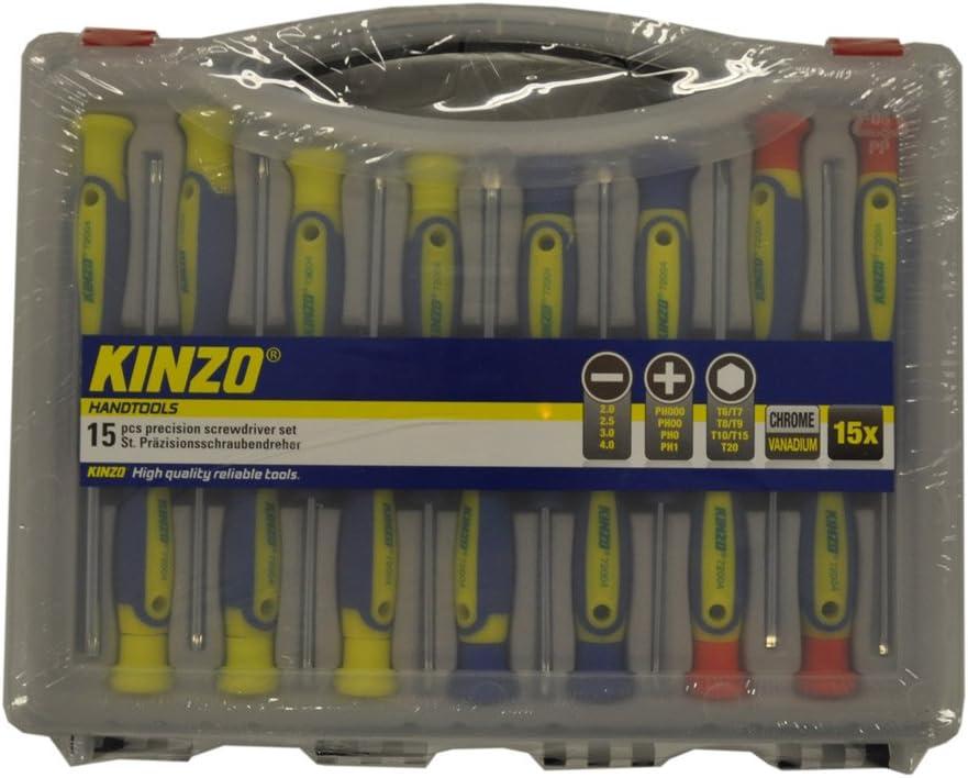 KINZO 871125272004 Precision Screwdriver Set