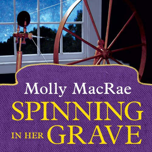 Spinning in Her Grave audiobook cover art