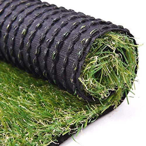 RoundLove 6.5ftx10ft Artificial Turf Lawn Fake Grass Indoor Outdoor Landscape Pet Dog Area, 6.5X10ft