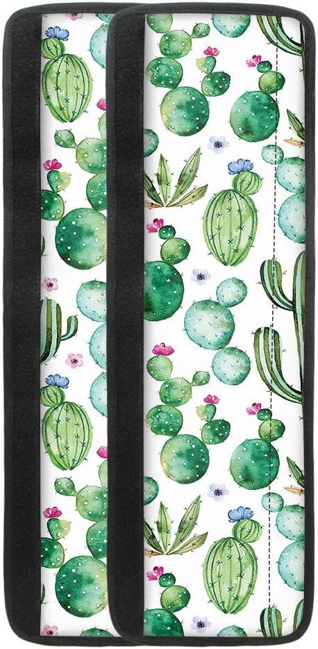 Freewander Cute Cactus Print Set of 2 Washable Fridge Door Handl