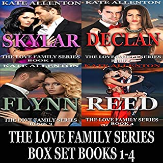 The Love Family Series Box Set, Books 1-4 audiobook cover art