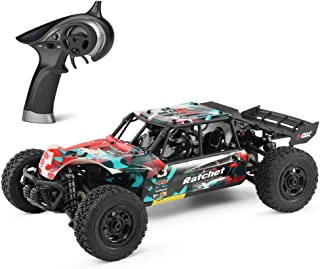 HBX 1:18 Scale All Terrain Remote Control Car 36KM/H High Speed RC Car, 4WD Electric Vehicle,2.4 GHz Radio Controller, RC Cars for Adults and Kids, Waterproof Off-Road RC Truck (Red)