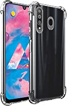 Bracevor Shockproof TPU Back Cover for Samsung Galaxy M30 - Transparent | Cushioned Edges | Flexible Clear Case