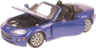 Generation 2005-2014 1//24 Bburago Modell .. Mazda MX5 Nc Cabrio Roadster Blau 3