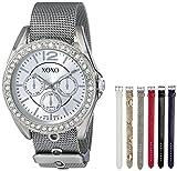 XOXO Women's XO9053 Rhinsetone-Accented Watch with...