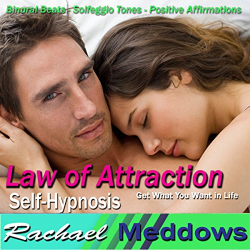 Law of Attraction Hypnosis audiobook cover art