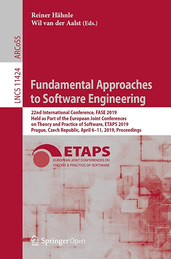 ストライドカウントアップ霊Fundamental Approaches to Software Engineering: 22nd International Conference, FASE 2019, Held as Part of the European Joint Conferences on Theory and ... Science Book 11424) (English Edition)