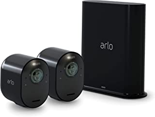 Arlo Ultra 2 Spotlight Camera - 2 Camera Security System - Wireless, 4K Video & HDR, Color Night Vision, 2 Way Audio, Wir...