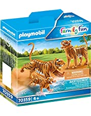 PLAYMOBIL family Fun -70359 Två tigrar med unge