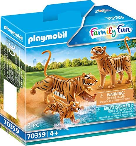 PLAYMOBIL 70359 - 2 Tiger mit Baby, ab 4 Jahren