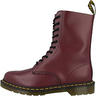 Dr. Martens 1490, Original Bottes mixte adulte - Rouge (Rouge cerise) - 38 EU (5 UK)