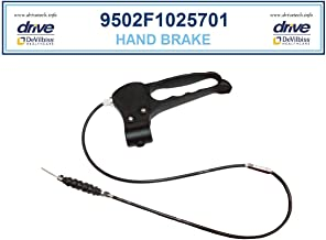 Drive Medical 10257 Rollator Replacement Hand Brake with Cable - Part 9502F1025701-1 Each